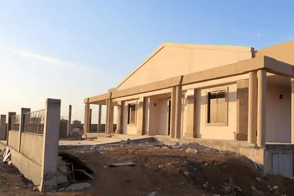 Ecole en construction à Erbil