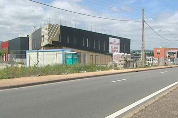 Le chantier du Burger King d'Aubière est à l'arrêt depuis la fin avril.