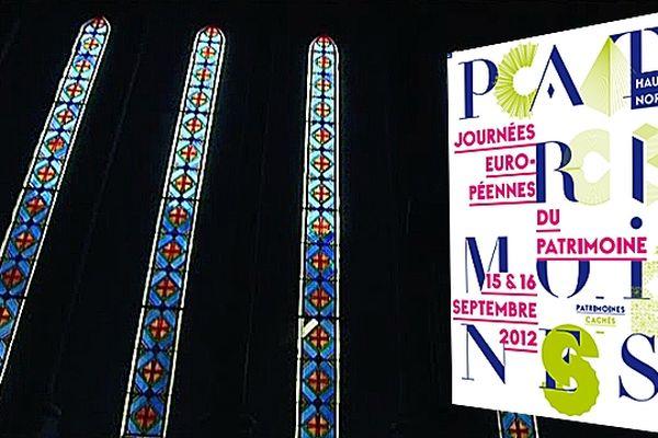 Les vitraux de la chapelle du couvent des Franciscains du Havre