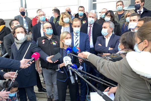 La ministre de l'Industrie, Agnès Pannier-Runacher a annoncé que Bridgestone ne validait pas le plan de sauvetage proposé par le gouvernement.