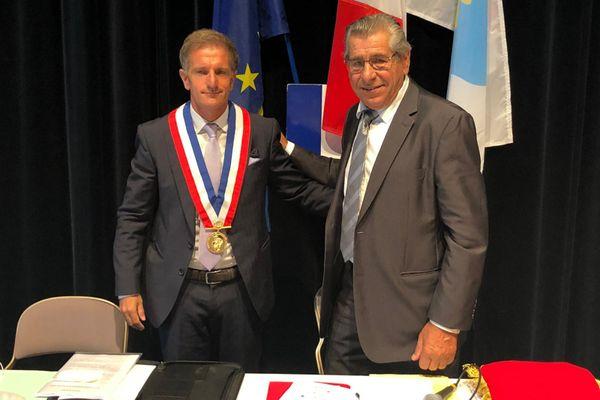 Kevin Luciano, élu ce samedi 4 juillet, nouveau maire de Vallauris Golfe-Juan. Lors de son élection, il y a eu 11 votes blancs, ceux de l'opposition.