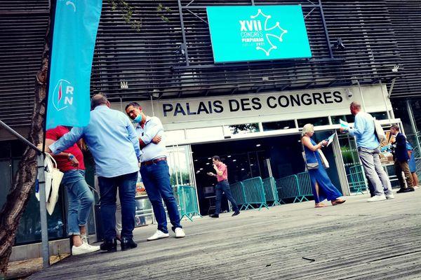 Les militants du Rassemblement National se sont donné rendez-vous les 3 et 4 juillet à Perpignan.
