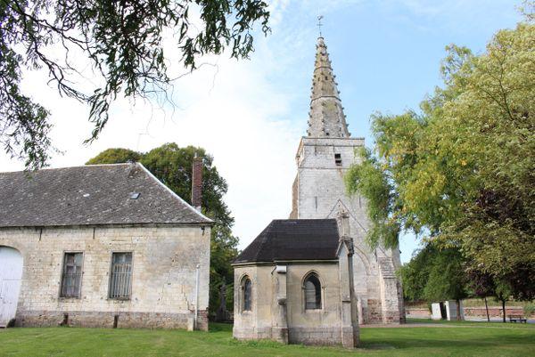 L'église Saint-Martin d'Ecoivres