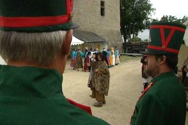 Plus de 2000 costumes ont été confectionnés pour le spectacle.