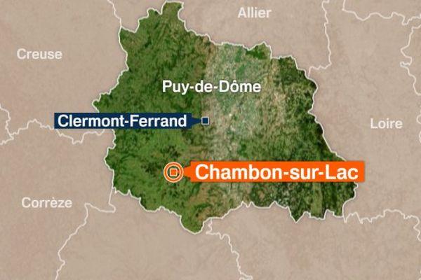 Chambon-sur-Lac, Puy-de-Dôme.
