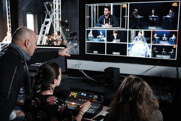 Tous les métiers de la production audiovisuelle sont représentés dans le BTS.