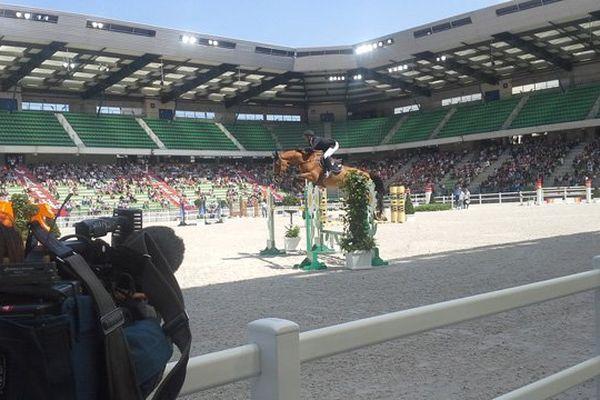 Les premiers spectateurs des JEM ce mercredi au stade d'Ornano pour les épreuves préparatoires