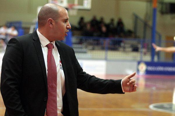 Rachid Meziane, coach de Lattes-Montpellier - archives