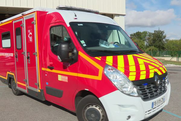 Véhicule de secours des pompiers de l'Oise, août 2020