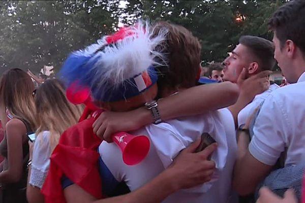 Les supporters français ont vécu de belles émotions.