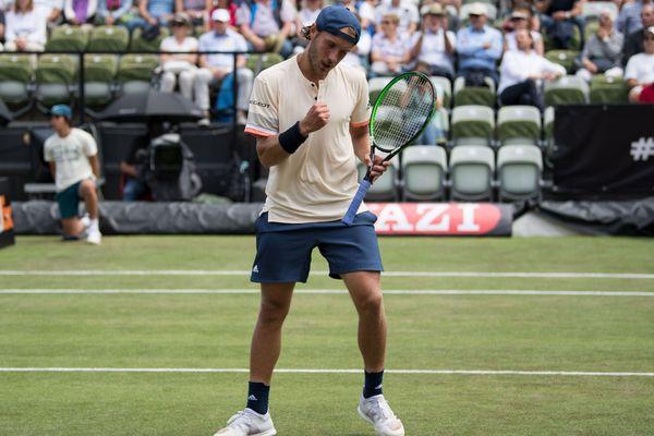 Le Loonois Lucas Pouille s'est qualifié en demi-finale du tournoi ATP de Stuttgart.