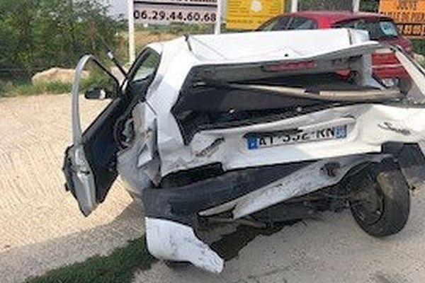 Vestric-et-Candiac (Gard) - accident mortel sur la RN.113 - 12 septembre 2018.