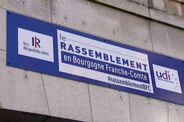 La droite et le centre ont décidé d'unir leurs forces pour conquérir la présidence de la future grande région Bourgogne Franche-Comté.