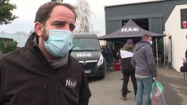 Ludovic Martel responsable de la brasserie Nao à Saint-Lyphard (Loire-Atlantique)