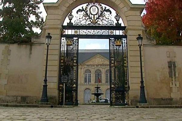 Le palais de justice de Nevers