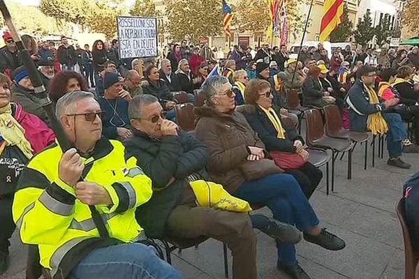 Perpignan : journée de solidarité avec les prisonniers politiques de Catalogne - 30 octobre 2018.