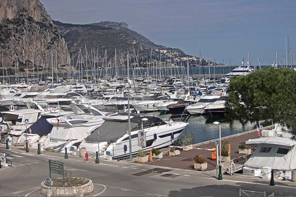 Port de Beaulieu vu par webcam.