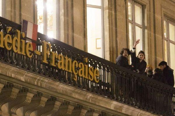 Depuis mardi soir, les intermittents occupent la Comédie-Française à Paris.