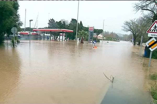Saint-Tropez a été le théâtre d'inondations, ce vendredi 23 novembre