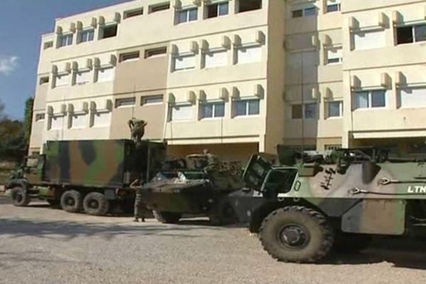 Plus de 2000 militaires séjournent dans le camp de Canjuers