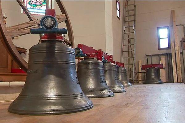 Les cloches anglaises de l'église anglicane de Vernet-les-Bains