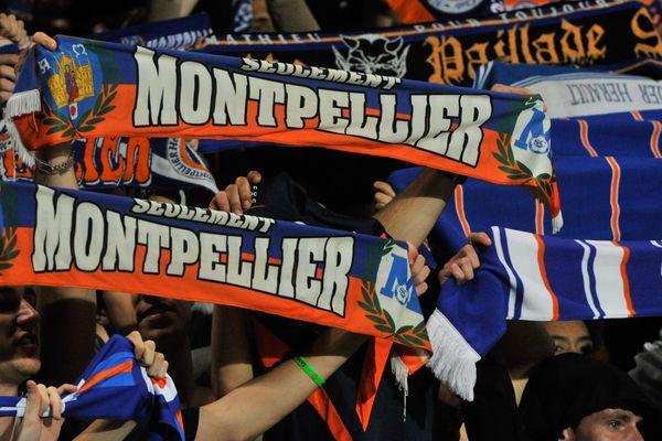 Les supporters du MHSC au stade de la Mosson - image d'illustration