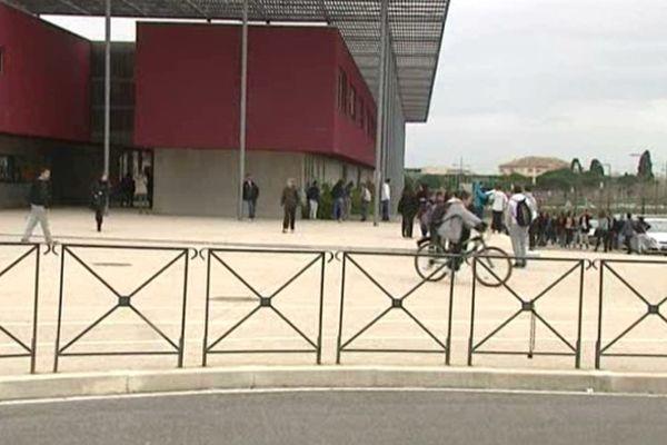 Le collège Rabelais est implanté dans le nouveau quartier Malbosc à Montpellier