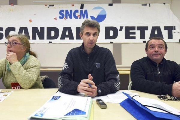 06/01/15 - La CGT a menacé d'occuper les bateaux de la SNCM si la compagnie maritime était vendue à la découpe