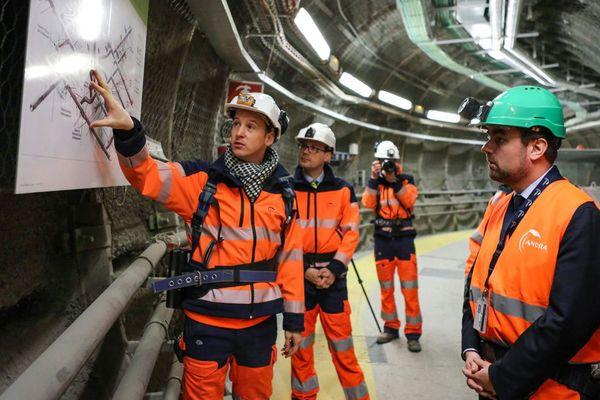Ce lundi, Sébastien Lecornu, secréatire d'état auprès du ministre de la transition écologique, était à Bure pour visiter le le laboratoire souterrain d'enfouissement des déchets nucléaires à vie longue. Il sera ce jeudi et ce vendredi dans le Cotentin.