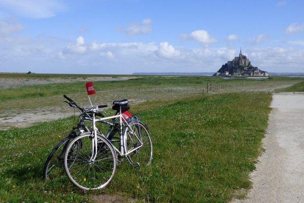 Le Mont-Saint-Michel et le Tour de France : les belles images