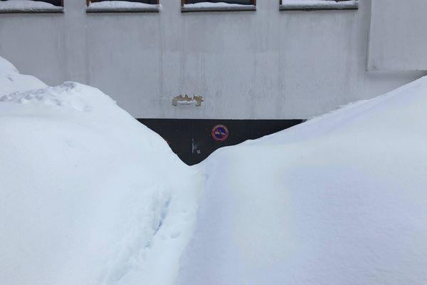 Pas moyen d'entrer ou de sortir des garages !