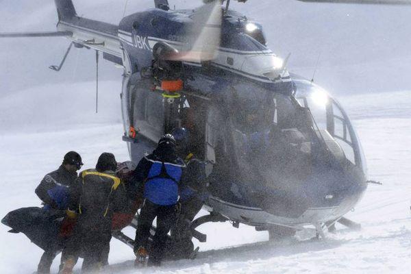 Image d'illustration : les secouristes du PGHM de Chamonix en action