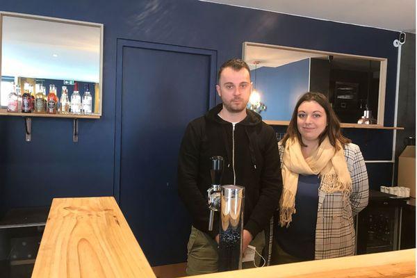 Alexandre et Loren Bru ont lancé leur restaurant la veille du deuxième confinement