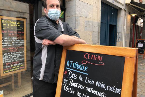 """Cédric Goujon, restaurateur de """"La Plancha"""""""