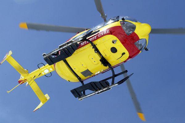 L'enfant , âgé de 12 ans, a été héliporté en urgence absolue (image d'illustration).