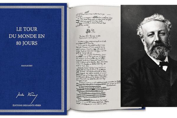 Le manuscrit de Jules Verne retrouvé et publié aux éditions des Saints Pères
