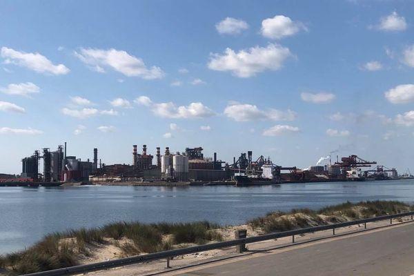 Le site d'ArcelorMittal à Dunkerque.