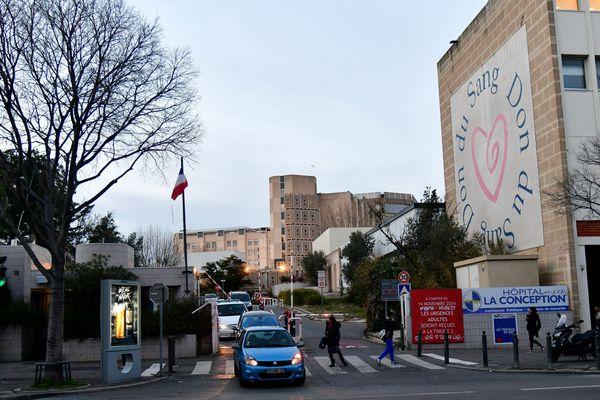 L'homme avait été admis à 'hôpital de la Conception à Marseille avec un pronostic vital engagé.
