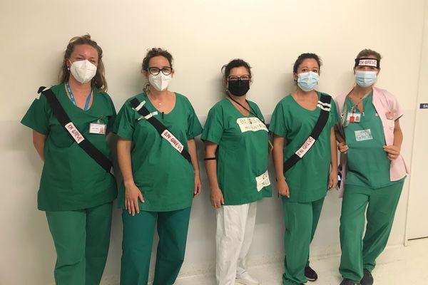 Certaines sages-femmes en grève à l'hôpital Sainte Musse de Toulon ont été réquisitionnées ce week-end.