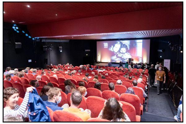 Festival du cinéma de Brive fin août 2020.