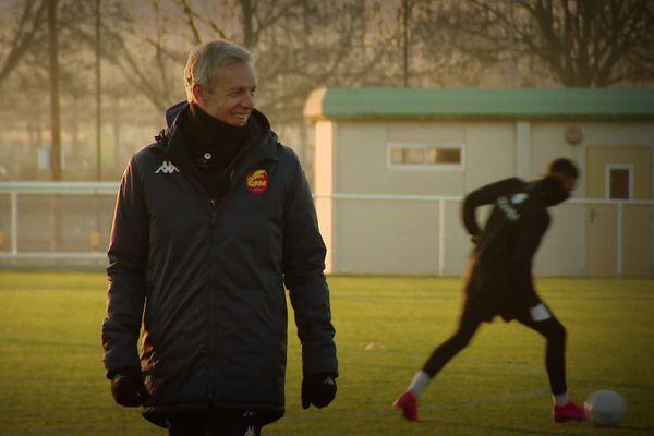 Bruno_Irles, le nouvel entraîneur de QRM.