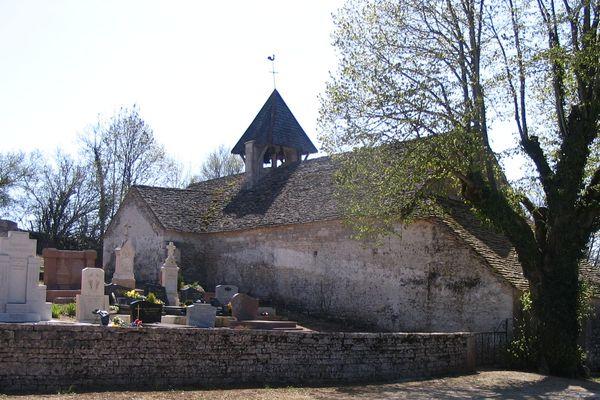La chapelle Saint-Ambroise vue de l'extérieur