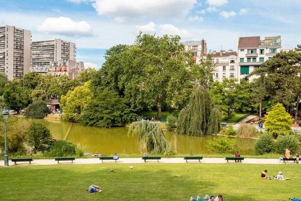 Le parc Montsouris à Paris. © AFP - GARDEL BERTRAND