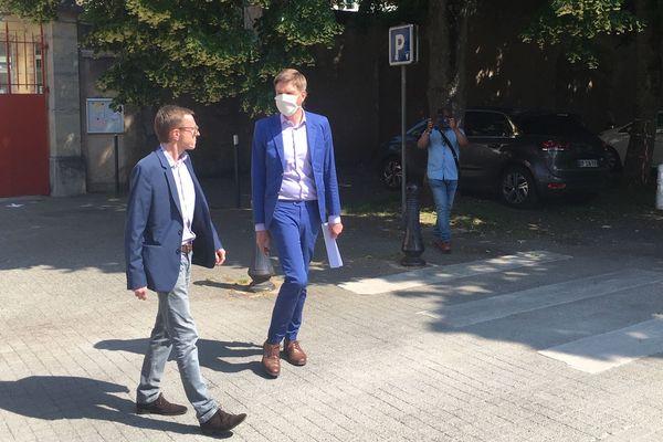 Mathieu Klein et Laurent Watrin marchent désormais du même pas.
