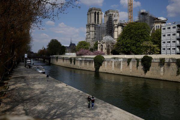 Notre-Dame de Paris, le 14 avril 2021