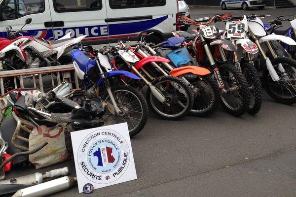 Des motos, un quad et des pièces détachées ont été saisis à Lille-Sud.
