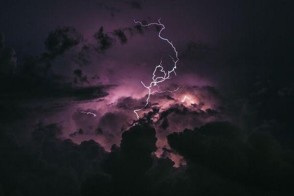 L'épisode orageux touche les départements de l'Isère, la Savoie et la Haute-Savoie. Photo d'illustration.