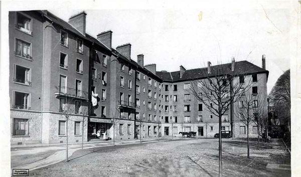 Cité Casimir Ranson dans les années 1930