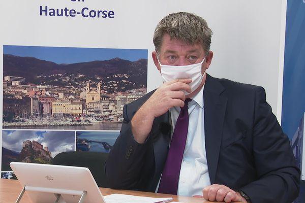 Une conférence de presse était organisée en préfecture de Haute-Corse, ce 13 juillet.