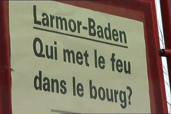 La presse s'intéresse à cette série d'incendies à Larmor Baden